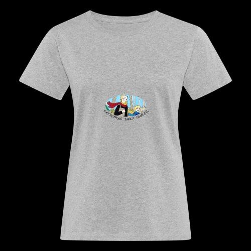 Fatherhood Badly Doodled - Women's Organic T-shirt