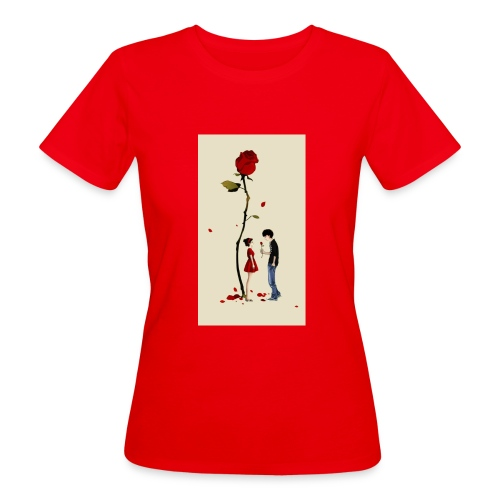 Roses are red - Camiseta ecológica mujer
