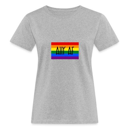 ally af - Frauen Bio-T-Shirt