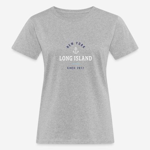 NEW YORK - LONG ISLAND - T-shirt ecologica da donna