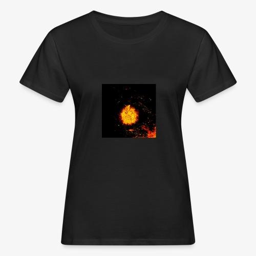 FIRE BEAST - Vrouwen Bio-T-shirt