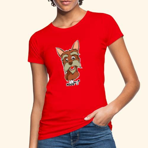 Nice Dogs schnauzer - T-shirt ecologica da donna
