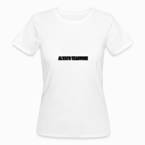 at team - Vrouwen Bio-T-shirt