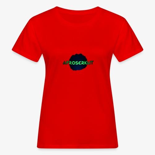 AfroSerkut LOGO - Naisten luonnonmukainen t-paita
