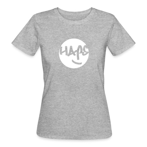HAPS White Logo - Women's Organic T-Shirt