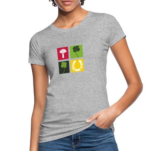 Just my luck Glück - Frauen Bio-T-Shirt