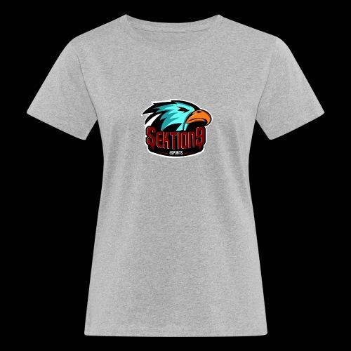 Sektion9 Logo Schwarz - Frauen Bio-T-Shirt