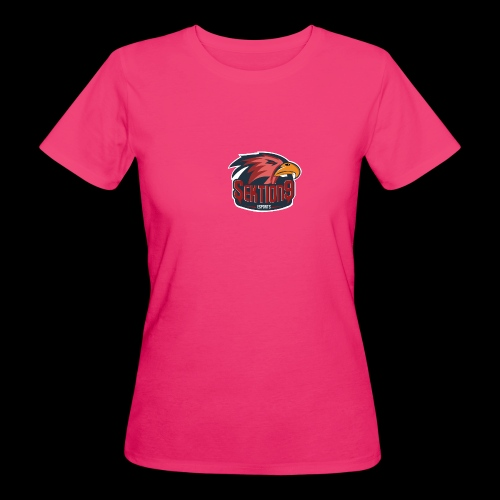 Sektion9 logo Rot - Frauen Bio-T-Shirt