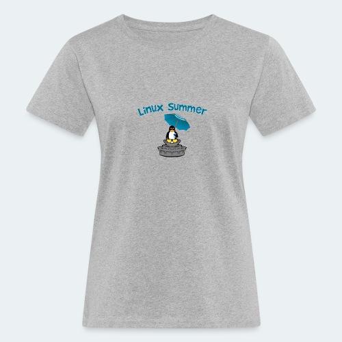 linux summer - T-shirt ecologica da donna