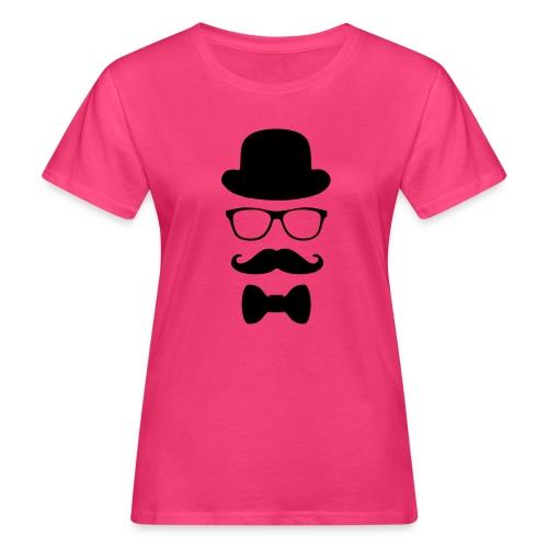 Mann mit Krawatte. - Frauen Bio-T-Shirt