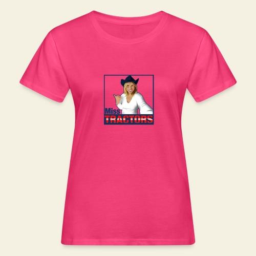 Miss Tractors Logo - T-shirt ecologica da donna