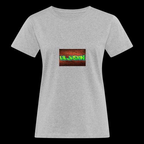 Lil Justin - Women's Organic T-Shirt