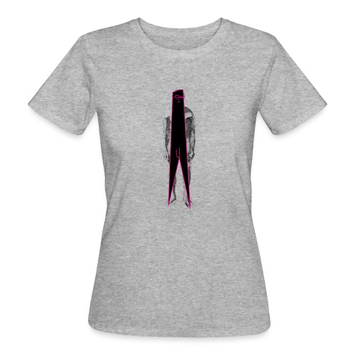 Figure Censor Mask - Women's Organic T-Shirt