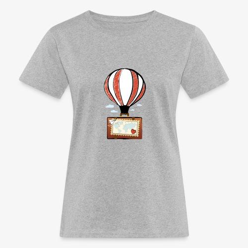 CUORE VIAGGIATORE Gadget per chi ama viaggiare - T-shirt ecologica da donna