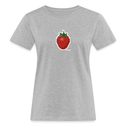 Erdbeer - Frauen Bio-T-Shirt
