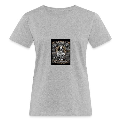 Johnny hallyday diamant peinture Superstar chanteu - T-shirt bio Femme