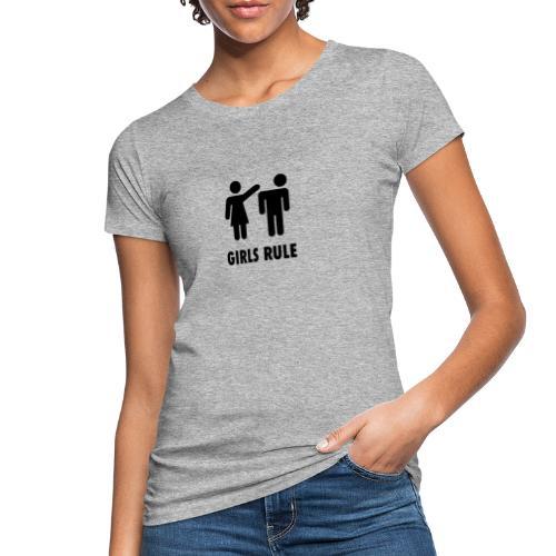 Girl rule - Økologisk T-skjorte for kvinner