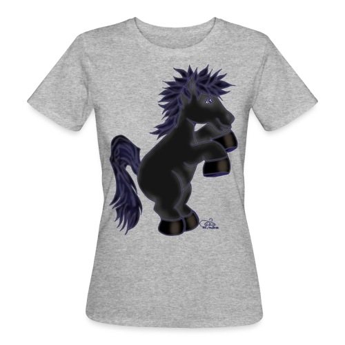 Kleiner Rappe - Frauen Bio-T-Shirt