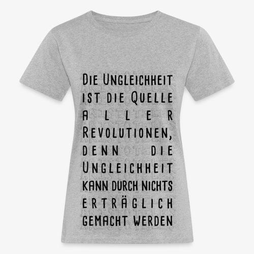 Ungleichheit - Frauen Bio-T-Shirt