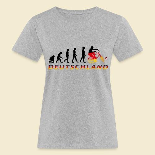 Radball | Evolution Deutschland - Frauen Bio-T-Shirt
