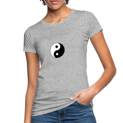 Yin Yang balance in life - Women's Organic T-Shirt