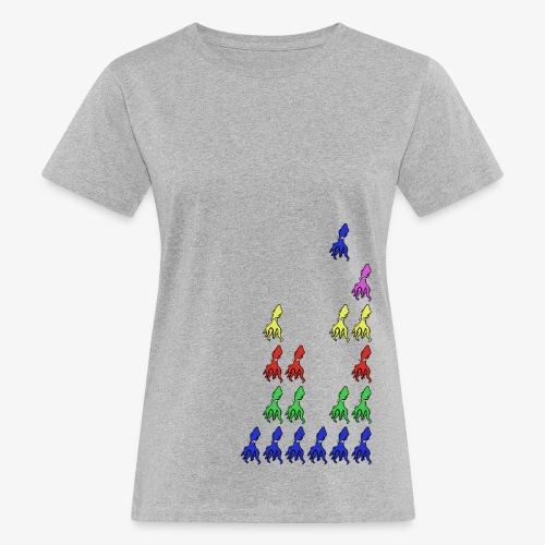 Squid Invader - T-shirt bio Femme