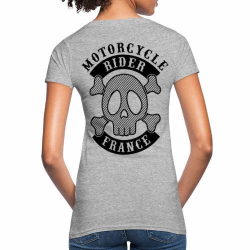 Motorcycle Rider France - T-shirt bio Femme