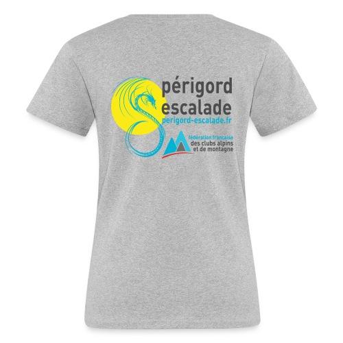 Périgord Escalade - T-shirt bio Femme