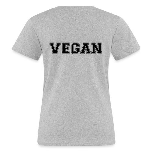 Vegan sports - Naisten luonnonmukainen t-paita