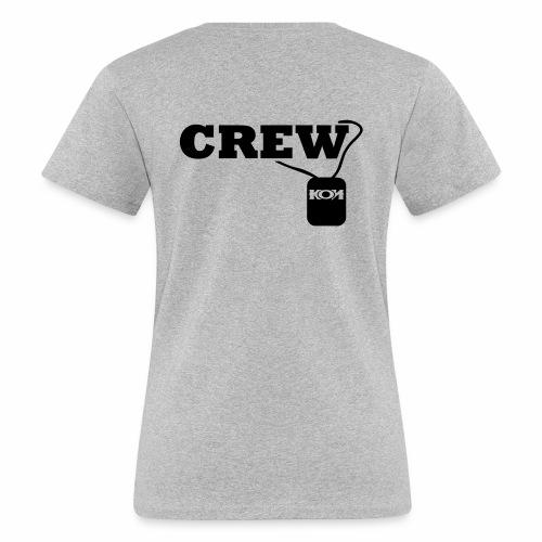 KON - Crew - Frauen Bio-T-Shirt
