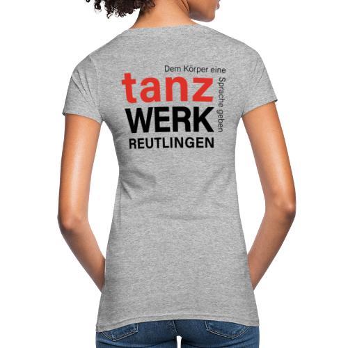 Tanzwerk - Standard - schwarz - Frauen Bio-T-Shirt