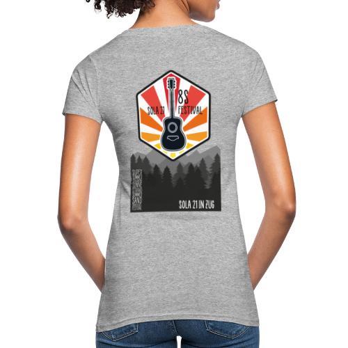Sola21Cover - Frauen Bio-T-Shirt