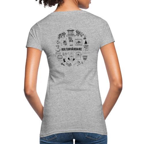 Baksidestryck - Ekologisk T-shirt dam