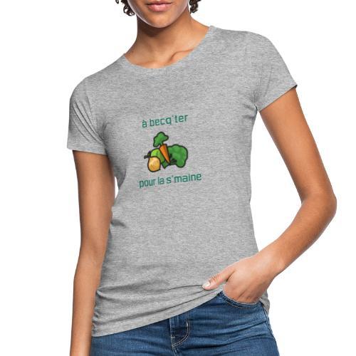 Becqueter green XL - AW20/21 - T-shirt bio Femme