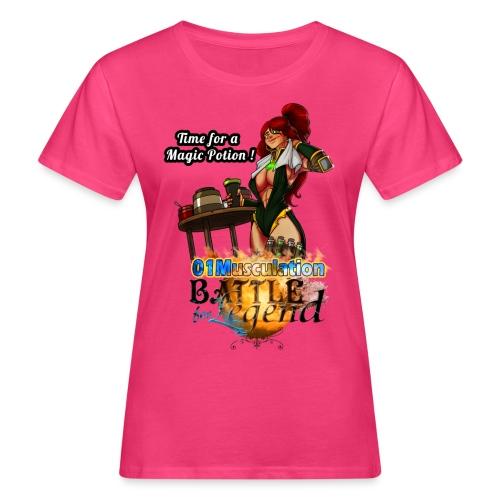 Mythrilisatrice- Battle for Legend X 01Musculation - T-shirt bio Femme