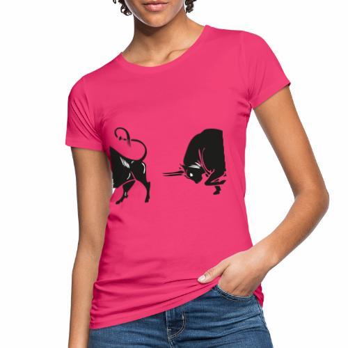 TORO - BULL - T-shirt ecologica da donna