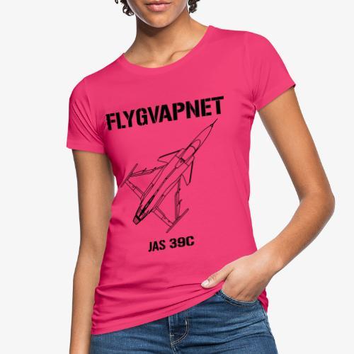 Flygvapnet JAS 39C - Ekologisk T-shirt dam