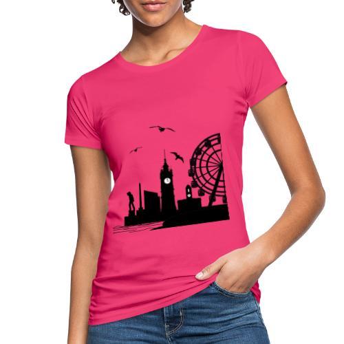 Silhouette of Margate - Women's Organic T-Shirt