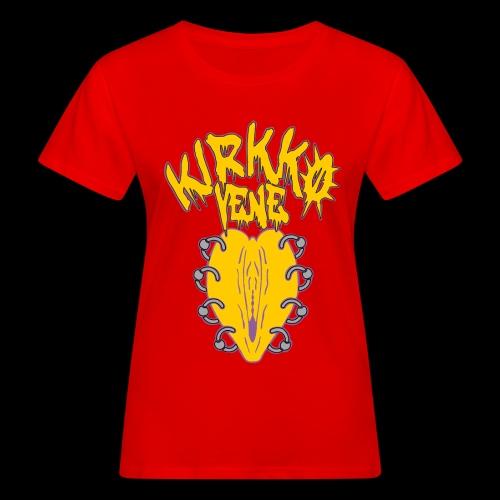 Lävistetty kirkkis - Naisten luonnonmukainen t-paita