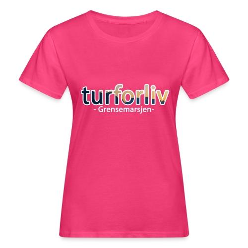 Grensemarsjen - Økologisk T-skjorte for kvinner