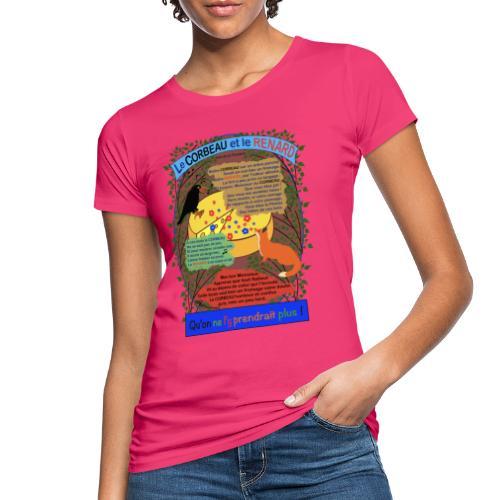 Le Corbeau et le Renard (Jean de la Fontaine) - Frauen Bio-T-Shirt