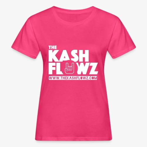 The Kash Flowz Official Web Site White - T-shirt bio Femme