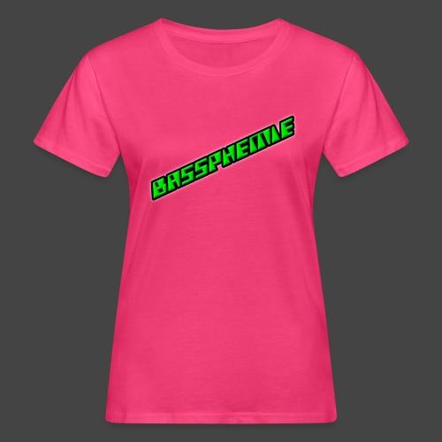 Bassphemie - Neongrün II - Frauen Bio-T-Shirt