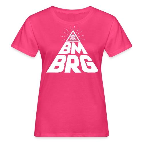 BMBRG Auge - Frauen Bio-T-Shirt