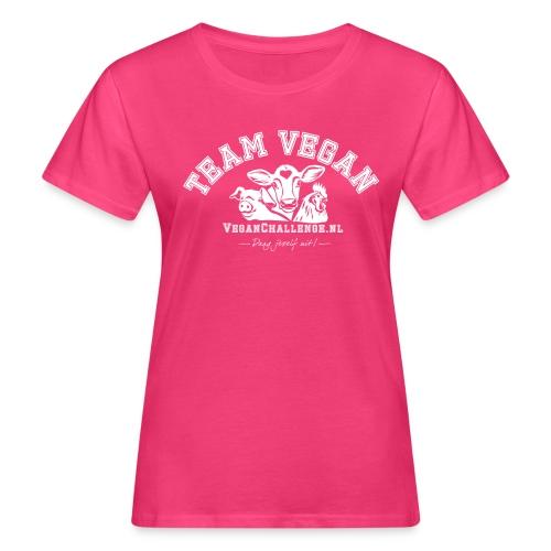 TEAM VEGAN 1 kleur - Vrouwen Bio-T-shirt
