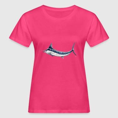 Blue Marlin - Blå marlin - Espadon - Fisk - Organic damer