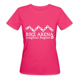 Bike Arena White - Frauen Bio-T-Shirt