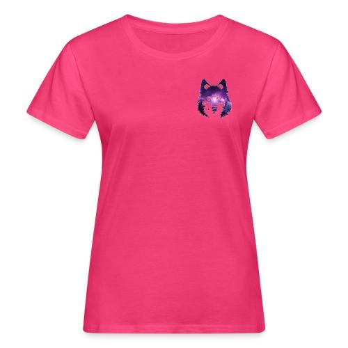 Galaxy wolf - T-shirt bio Femme