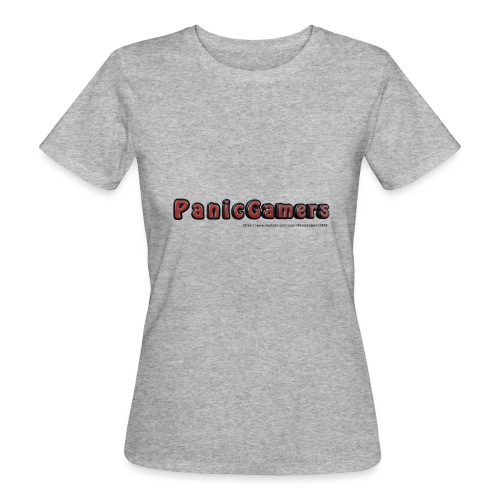 Canotta PanicGamers - T-shirt ecologica da donna