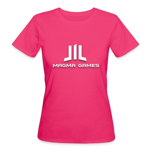 Magma Games mok zwart met - Vrouwen Bio-T-shirt